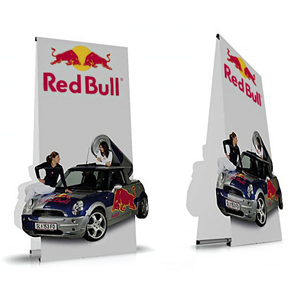 PUNTO Banner Stand Double Sided Large