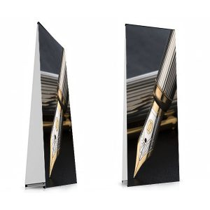 PUNTO Banner Stand Double Sided Small Display