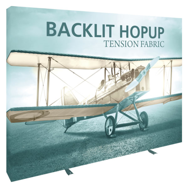 10' Backlit Hop Up Tension Fabric Display