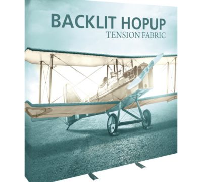 8ft Backlit Hopup Displays