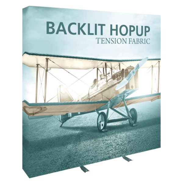 8ft Backlit Hopup Displays