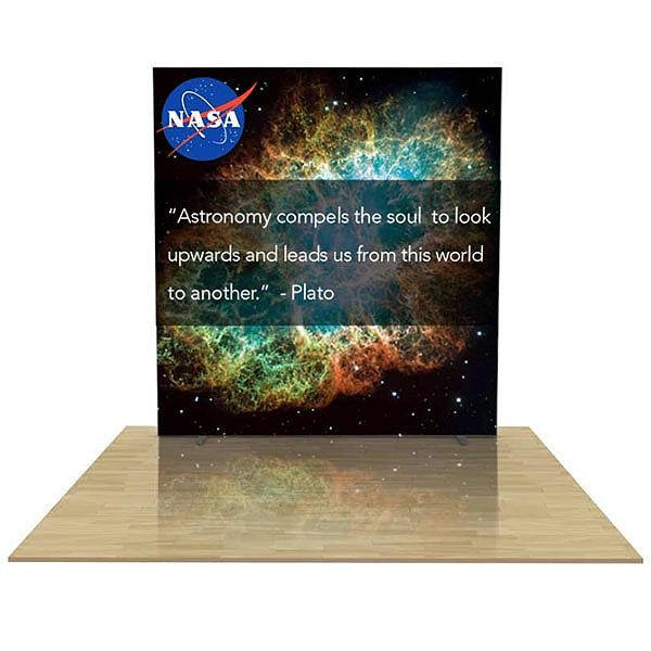 8FT Igniter Light Box Backlit Tension Fabric Graphic Walls