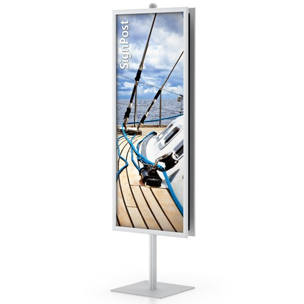 easyopen dual signpost frame stands