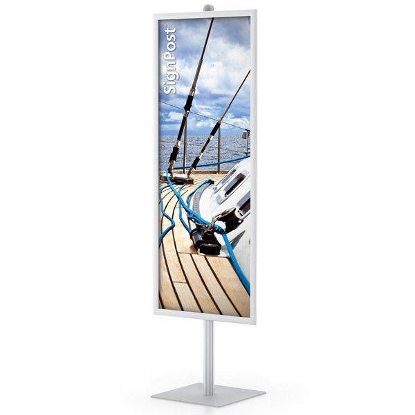 easyopen single signpost frame stands