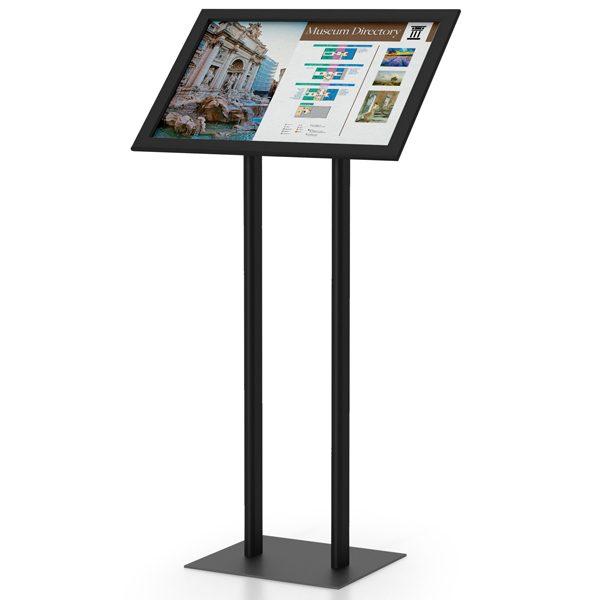 EasyOpen SnapFrame Pedestal Stands Dual
