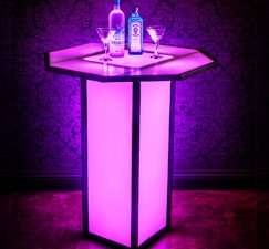 Event Portable Cubes And Tables Octagon Top