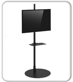 Freestanding Portable Monitor Kiosk Product