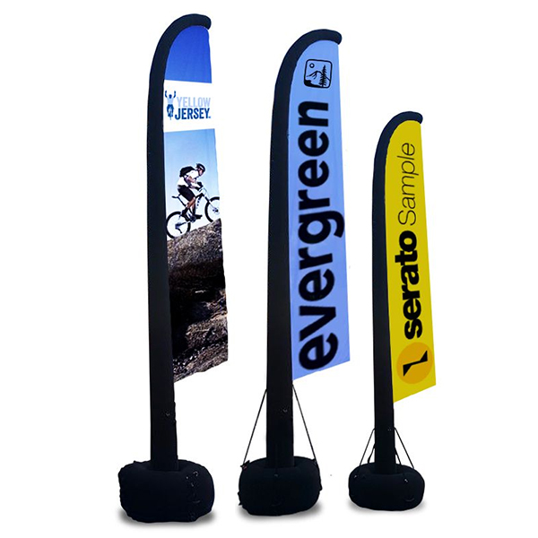 inflatable aire flag banner display pro