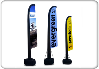 inflatable aire flag displays