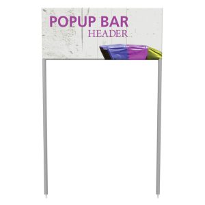 Portable Popup Large Bar Header