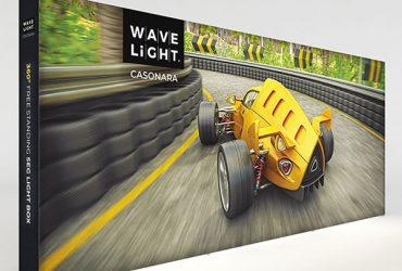 18.5' WaveLight Casonara LED Backlit Kit Display