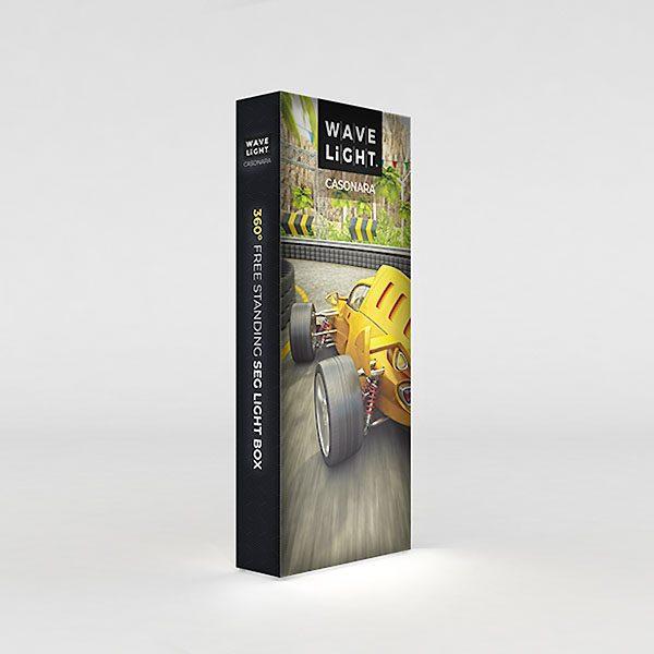 4' WaveLight Casonara LED Backlit Kit Display
