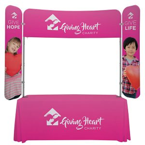 6' EuroFit Monarch Kit Tablet Top Display With Graphics