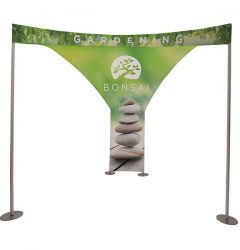 EuroFit Chalet Kit Tension Fabric Display Front View