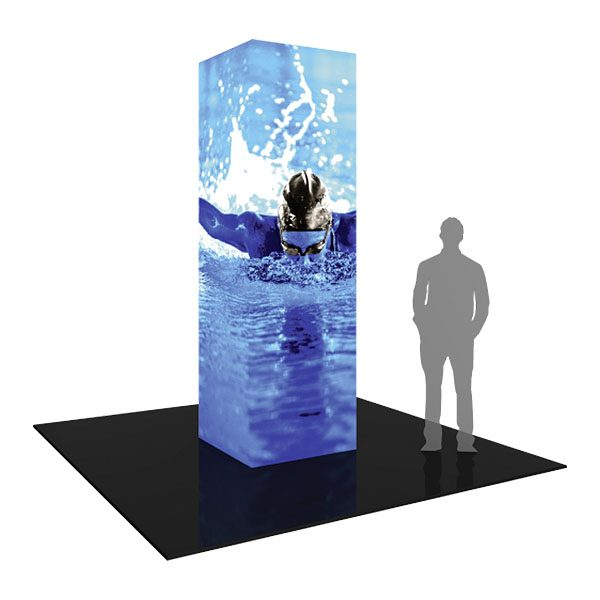Formulate Backlit Tower 02 Tension Fabric Display