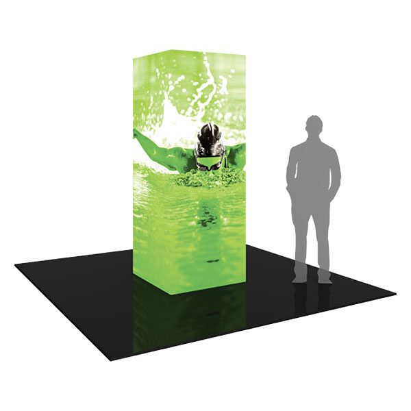 Formulate Backlit Tower 03 Tension Fabric Display