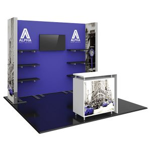 Hybrid Pro Modular Exhibit 10' x 10' Kit 21