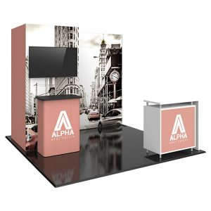 Hybrid Pro Modular Exhibit 10' x 10' Kit 24