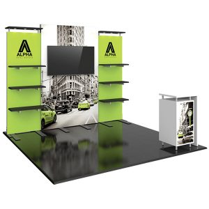 Hybrid Pro Modular Exhibit 10' x 10' Kit 30
