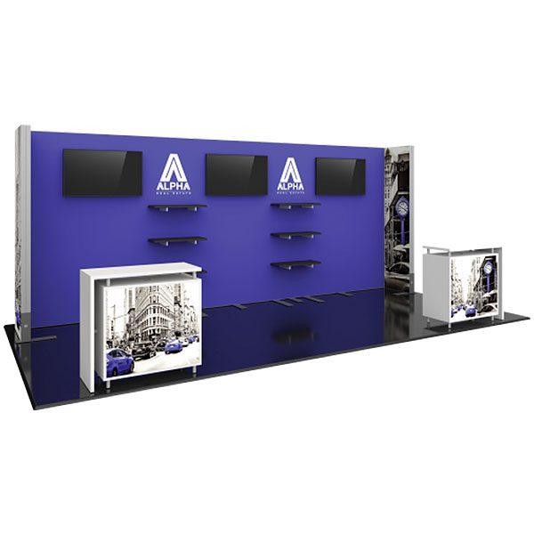 Hybrid Pro Modular Exhibit 20' x 10' Kit 22