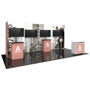Hybrid Pro Modular Exhibit 20' x 10' Kit 25