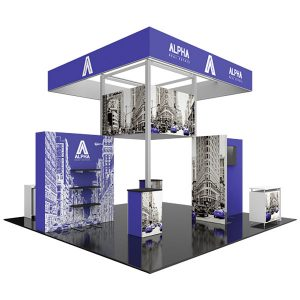 Hybrid Pro Modular Exhibit 20' x 20' Kit 23