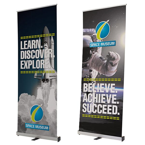 Ideal Retractor Banner Stand Kit Different Sizes