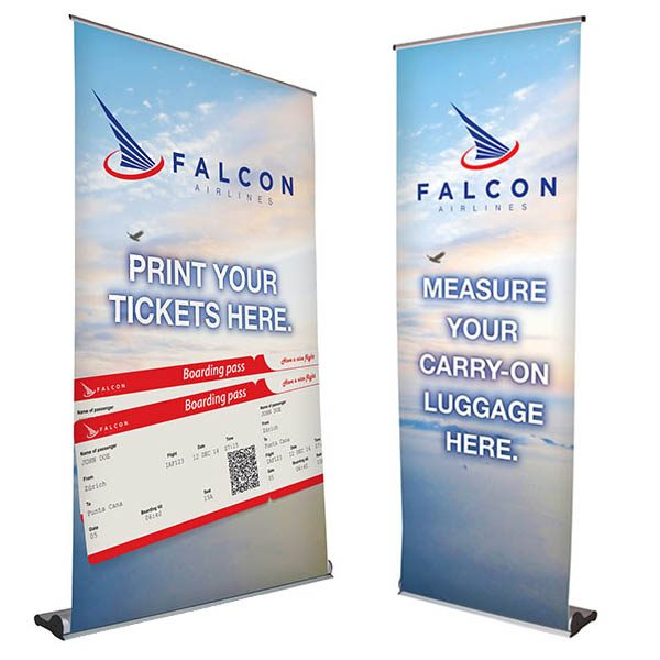 MagnaLink Retractor Banner Stand Kit Retractable Banner Stand Different Sizes