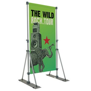 Performer Banner Display Outdoor Banner Stand Single Sided Graphics