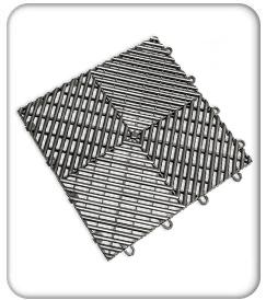 racedeck free flow tile flooring product