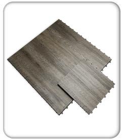 RaceDeck Smoked Oak Display Flooring product