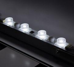 Radius Glo kit Backlit Tension Fabric Display LED lights
