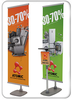 Sidekick Banner Display Kits