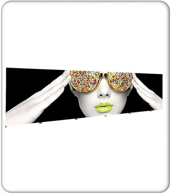 Vector Frame Light Box Rectangle 08 Fabric Banner Display