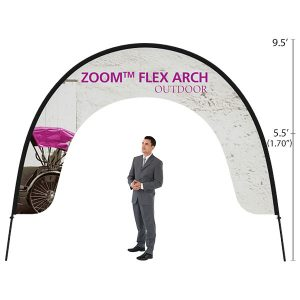 Zoom Flex Outdoor Arch Banner Stand