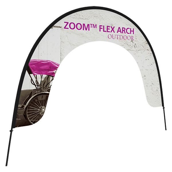 Zoom Flex Outdoor Arch Banner Stand
