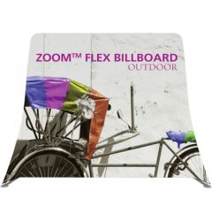 Zoom Flex Outdoor Billboard Display Frame Front View