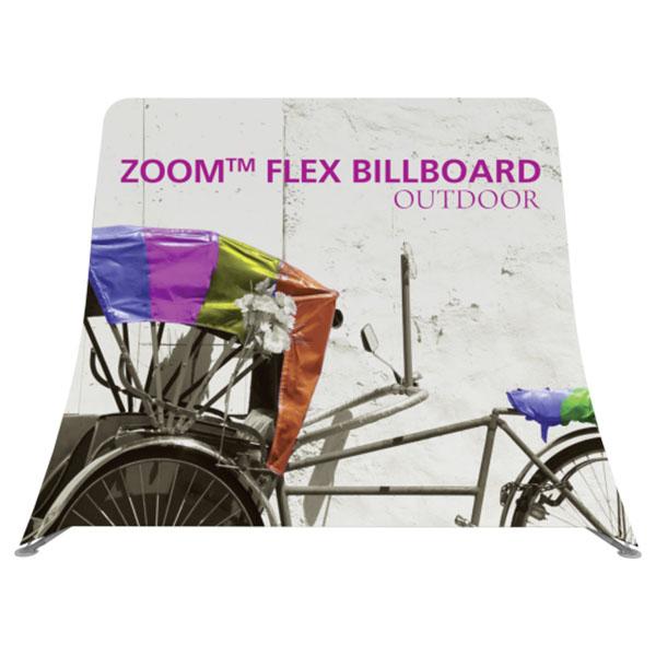 Zoom Flex Outdoor Billboard Display Frame Front View