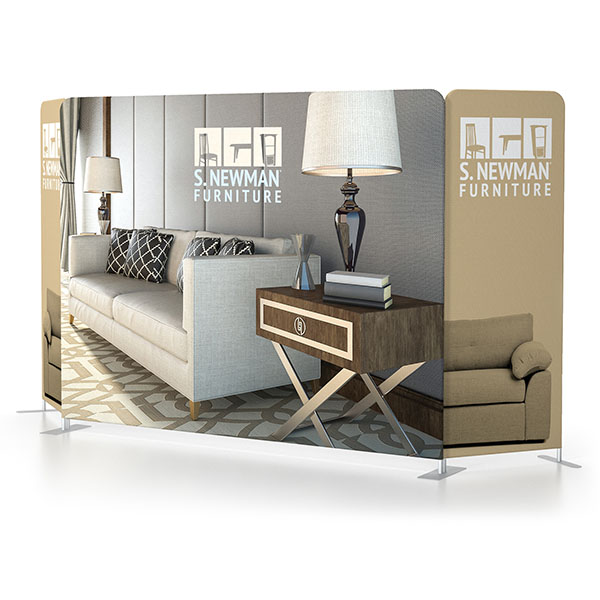 10' x 8' Scenic Fabric Walls Tension Fabric Displays Style 2