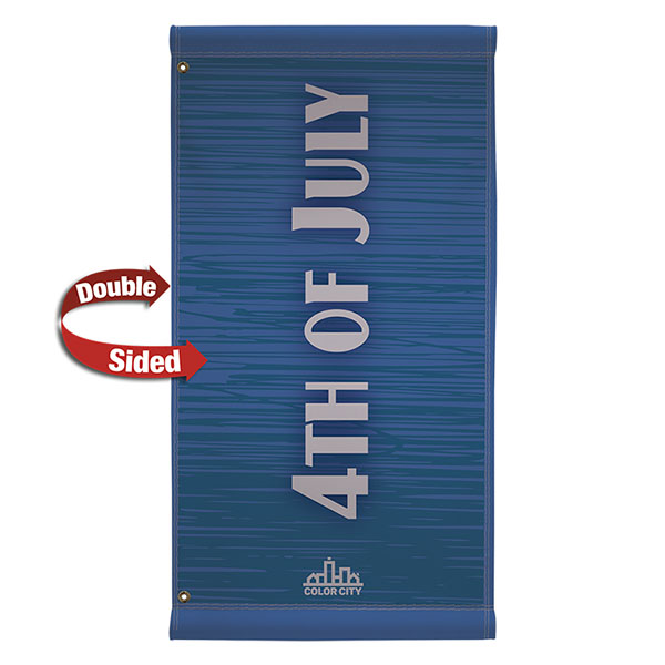 "24"" x 48"" Vinyl Boulevard Banner Stand"