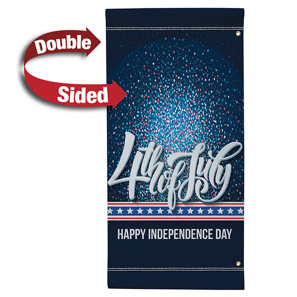 """24"""" x 48"""" Vinyl Boulevard Banner Stand Double Sided"""