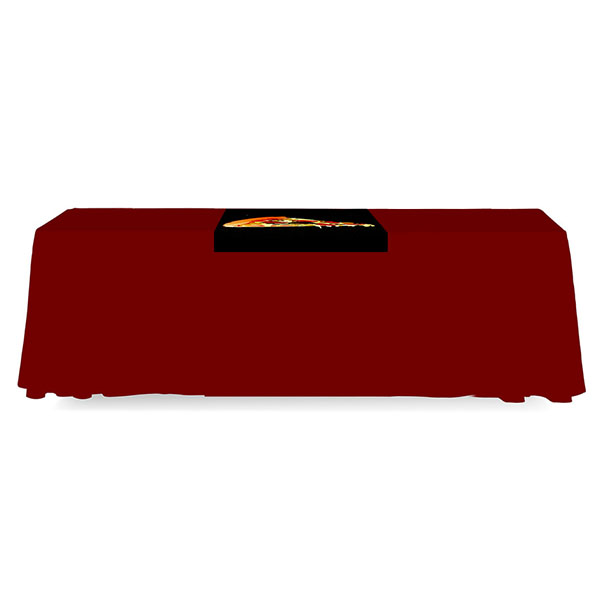 2' Budget Runner Full Color Dye Sub Table Runner Backless
