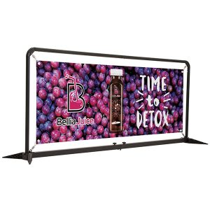 7' FrameWorx Barrier Kit Full Color Vinyl Single Sided Graphic