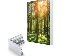 Charisma SEG Light Boxes Single Sided Graphics Frame And LED Strip Lights