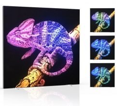Flow-Motion LED Animated Freestanding Displays