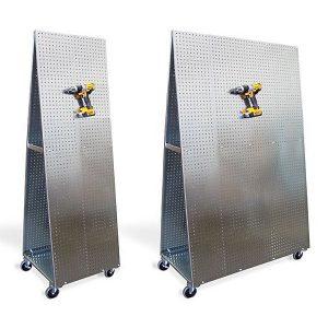 Freestading ToolCart MX Merchandiser Displays Different Sizes