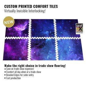 GraFx Interlocking Full Color Printed Tiles Flooring
