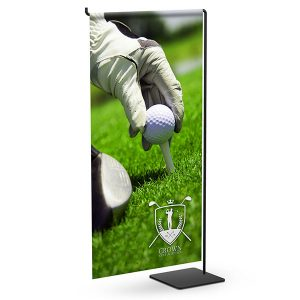 Mini Wire CounterTop Banner Stands Mini Table Top Displays With Graphics