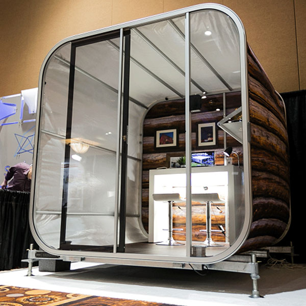 OiOXl Portable Exhibit Rooms Fully Brandable Aircell Office Display
