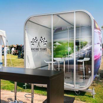 OiOXl Portable Exhibit Rooms Fully Brandable Outdoor Display